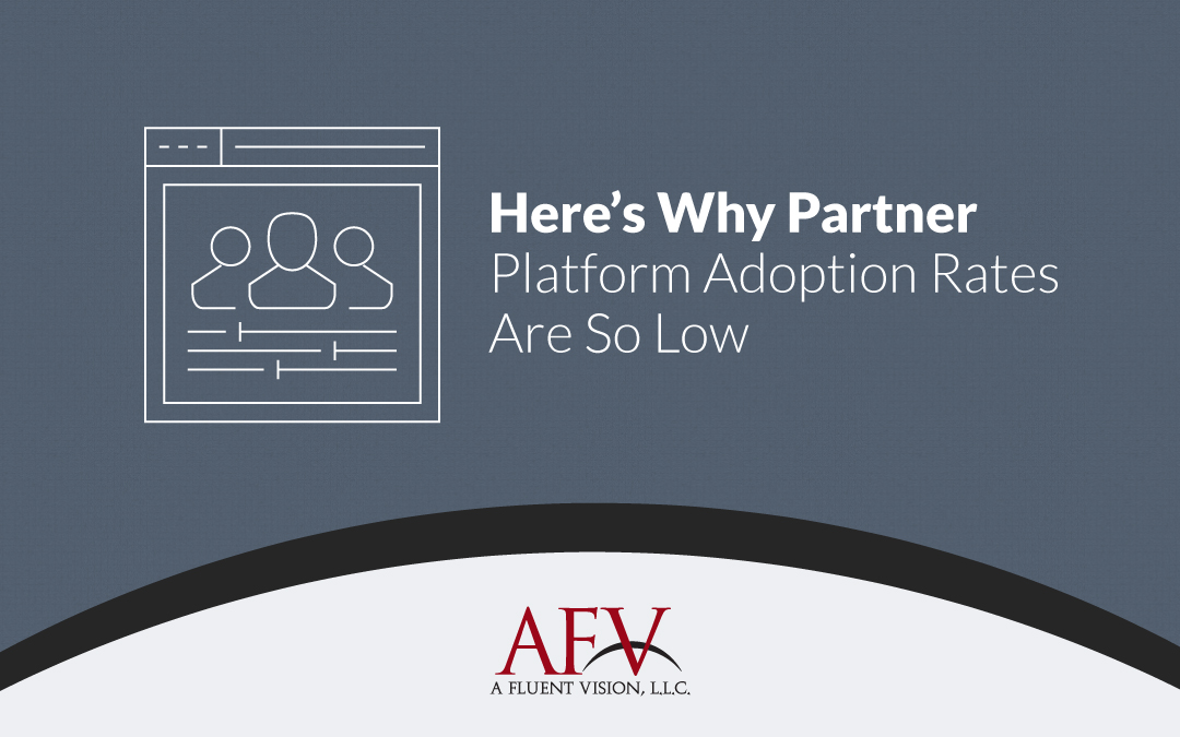 Here's Why Partner Platform Adoption Rates Are So Low